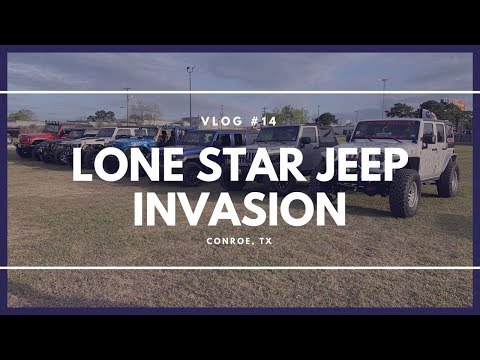 Lone Star Jeep Invasion Youtube