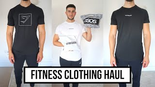 GYM CLOTHING HAUL & TRY ON | ASOS | GYMSHARK | ALPHALETE | NIKE | SUMMER 2019
