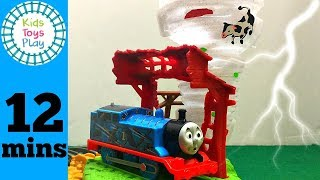 Thomas Train Trackmaster Twisting Tornado Playset | Thomas and Friends Toy Trains for Kids