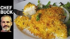 Best Baked Fish Recipe -- Cod with Creamy Tartar Sauce