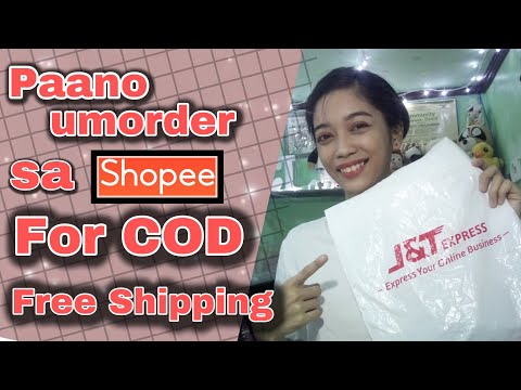 """Paano Umorder Sa Shopee For Cash On Delivery """"COD"""" 2020 With FREE SHIPPING