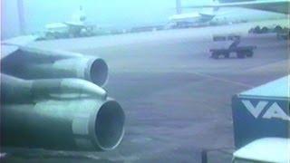 PLUNA Boeing 707-300 CX-BNU takeoff from Rio de Janeiro Galeão (GIG)