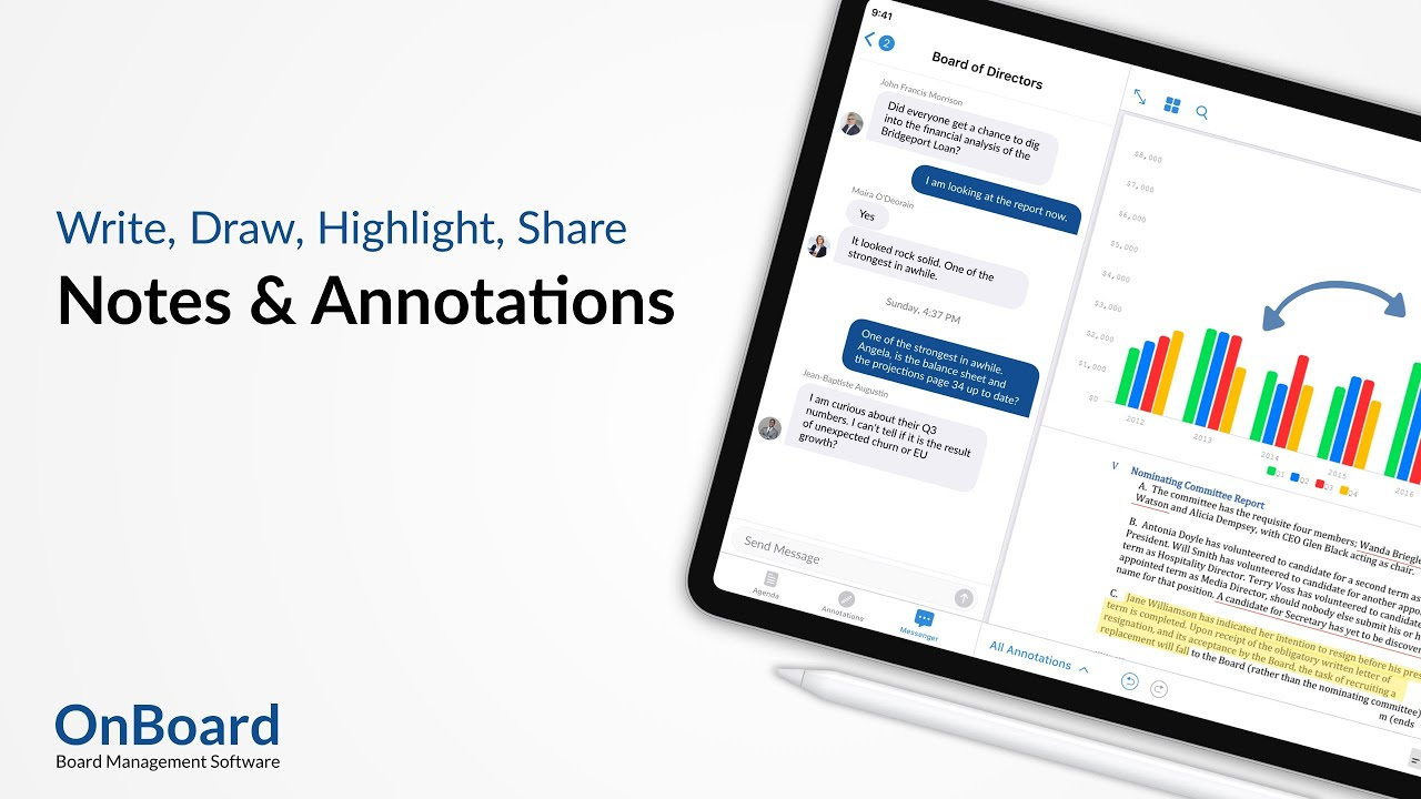 Notes and Annotations | OnBoard Board Management Software
