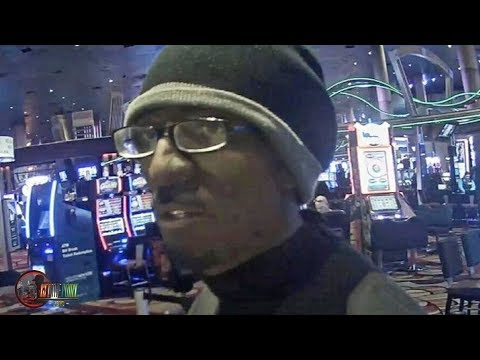 White Man Dressed In Black Face Rob Casino