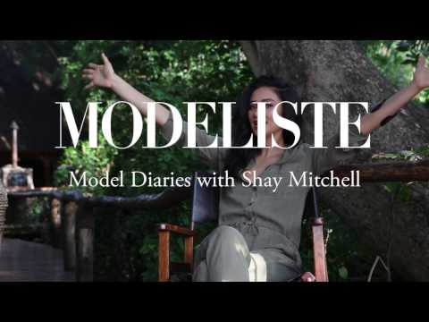 INTERVIEW WITH SHAY MITCHELL FOR MODELISTE MAGAZINE