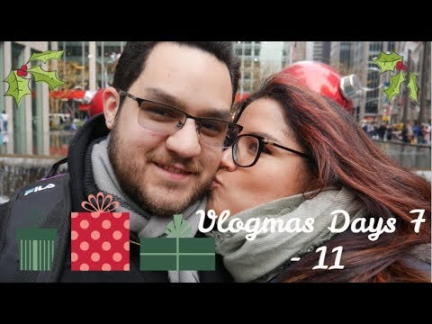 Christmas Time In NYC & Reading Vlog