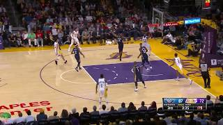 Lonzo Ball Lowlights 2017-10-22 New Orleans Pelicans vs Los Angeles Lakers
