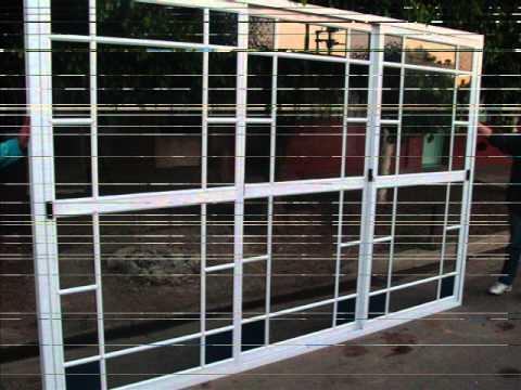 Ventanas de aluminio blanco abertura el sanjuanino youtube for Ventanas de aluminio economicas