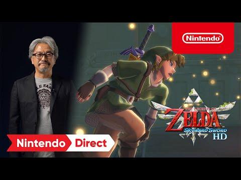 ¡The Legend of Zelda: Skyward Sword HD surcará los cielos en Nintendo Switch el 16 de julio!