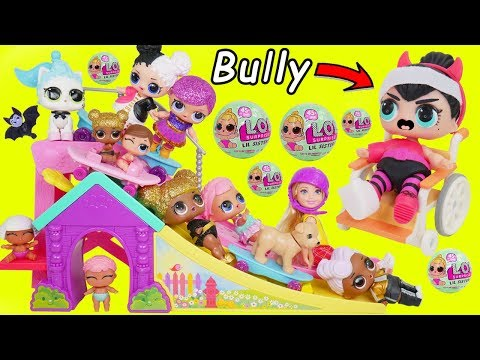 Thumbnail: L.O.L. Surprise! Dolls Barbie Kid Blind Bag Balls Baby Wrong Rescue Lil Sisters Transform Unboxed!