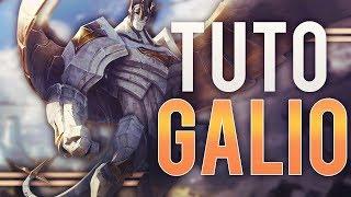 TUTO GALIO - COMMENT CARRY EN BRONZE/SILVER ? - League of Legends FR