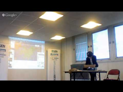 Caroline Goulard at The Editors Lab Le Parisien Hackdays