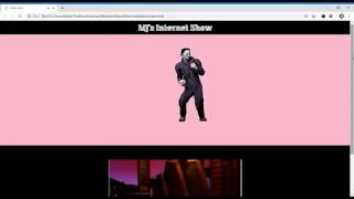 Michael Jackson HTML/CSS Tribute show