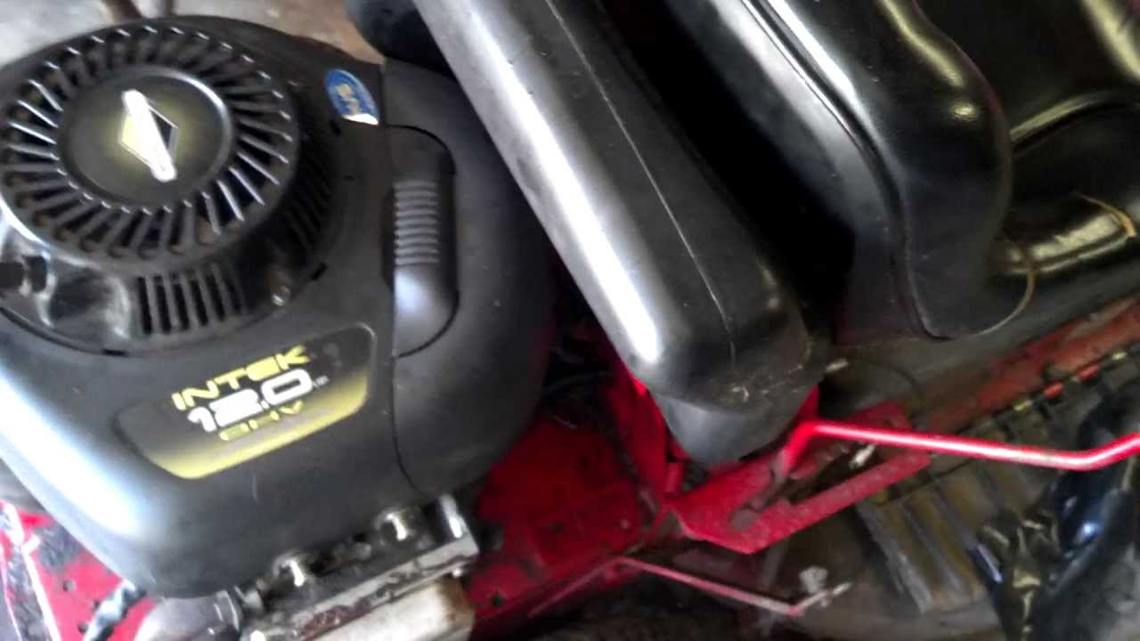 Briggs Wiring Diagram 12 Up Lawn Mower Hard To Start Kill Switch Fixes Youtube