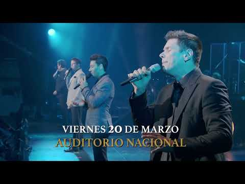 IL DIVO en concierto 20 de Marzo, Auditorio Nacional, CDMX.