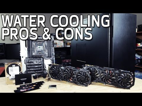 Water Cooling Pros & Cons with JayzTwoCents