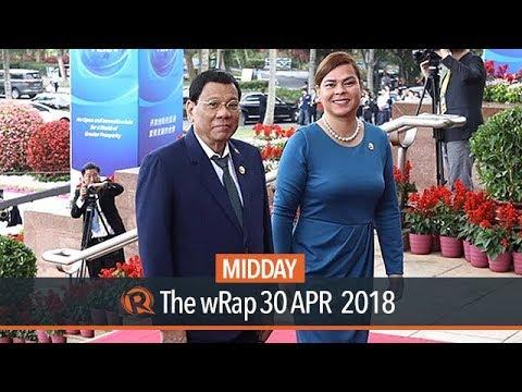 Duterte, daughter Sara disagree on peace talks with communist rebels