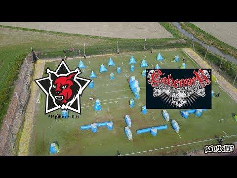PH Paintball vs Takeover - SPBL2017 Kirkkonummi