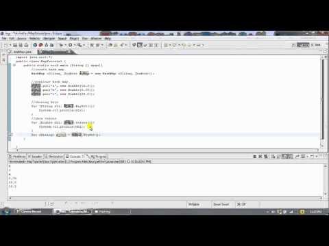 Java- HashMap and TreeMap