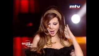 Nancy Ajram Dancing With The Stars - Akhasmak Ah (Live)  / نانسي عجرم في رقص النجوم -  أخصمك آه