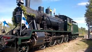 suomen rautatiemuseo hv1 555 prinsessan 100 vuotisjuhla