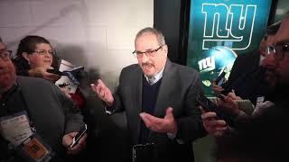 Giants' Dave Gettleman on new head coach Joe Judge