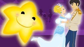 Aschenputtel ( Cinderella ) im Funkel, funkel, kleiner Stern kinderlieder zum mitsingen