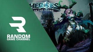 Набиваю скилл, ну или свое ли... (18+) (Heroes of the Storm)