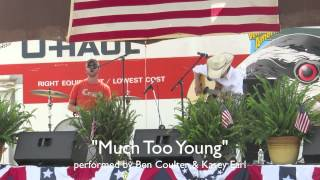 Ben Coulter & Kasey Earl performing Garth Brook