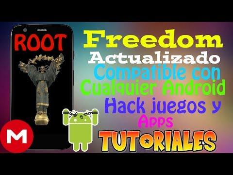 Freedom Actualizado Compatible con Android 7.1.1 y Versiones Inferiores//Compras Extras en Apps ROOT