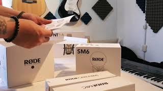 RODE NT1-A unboxing en español…
