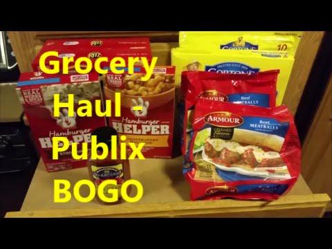 Grocery Haul #21 – Publix BOGO