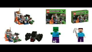 Lego Minecraft filtrado.