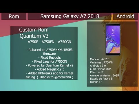 Repeat Rom Quantum V3 - Android 9 0 - Samsung Galaxy A7 2018