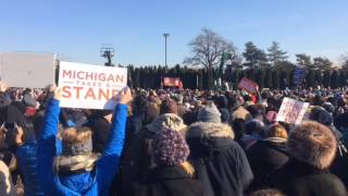 Chuck Schumer, Bernie Sanders at Save Our Healthcare rally