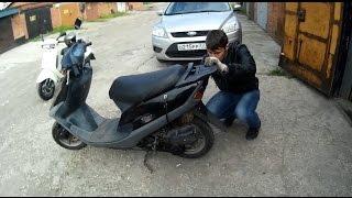 Как мы покупали скутер Honda Tact 31.