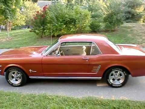 for sale restored 1966 ford mustang 289 v8 coupe 14 500. Black Bedroom Furniture Sets. Home Design Ideas