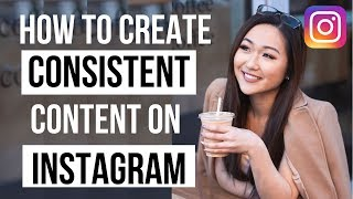 How to Create Consistent Content for Instagram 2019 (Create ONE MONTH of content in ONE DAY!)