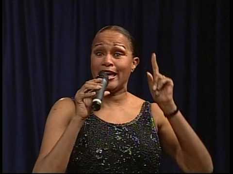 2009_49  7 Francine Bell singing Go Tell It