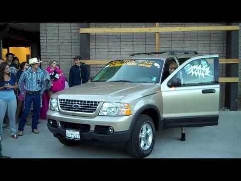 SusanvilleStuff Video: Wheels West Car Giveaway at Lassen County Sober Grad 2013