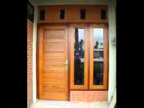 Model pintu rumah minimalis YouTube