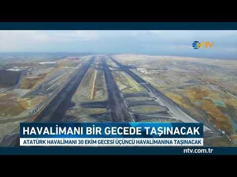 Atatürk Havalimanı bir gecede taşınacak