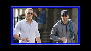 Ryan reynolds and jake gyllenhaal are #friendshipgoals while grabbing coffee in nyc: photos-Latest
