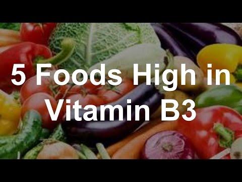 5 Foods High in Vitamin B3