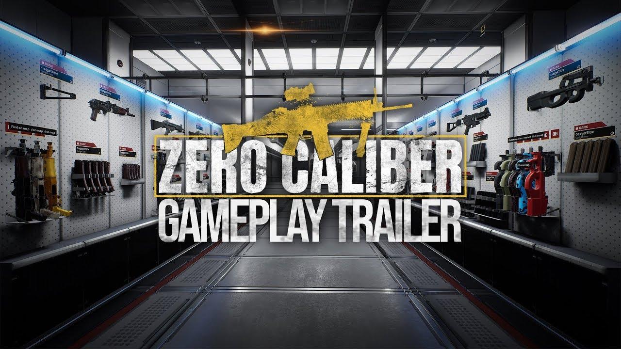 ZERO CALIBER VR | GAMEPLAY TRAILER | Oculus Rift | HTC VIVE | VIVE Cosmos | Valve Index | WMR