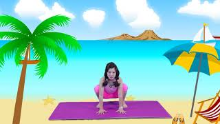 Bài tập Yoga cho trẻ em: TĂNG TRƯỞNG CHIỀU CAO, PHÁT TRIỂN TRÍ THÔNG MINH CHO TRẺ EM [PHẦN 1]