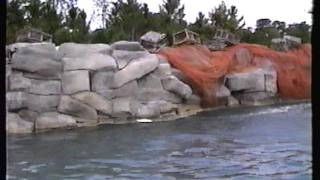 1990 Universal Studios Florida - The ORIGINAL JAWS RIDE Training Video!