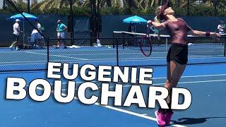 Eugenie Bouchard - Australian Open 2019 - Practice Courts