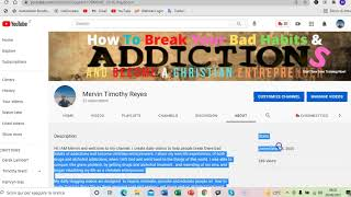 New Drug And Alchohol Treatment Program Teaches How To Start A Youtube Channel - Part 4