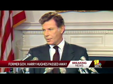 Former Gov. Harry Hughes dies at 92